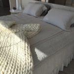 Manta Grande 1,30×1,80m – Tricot Gigante Lã Merino Premium