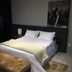 Peseira Casal 0,70×1,80m – Tricot Gigante Lã Merino Premium