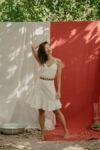 Vestido Algodão Branco Amor