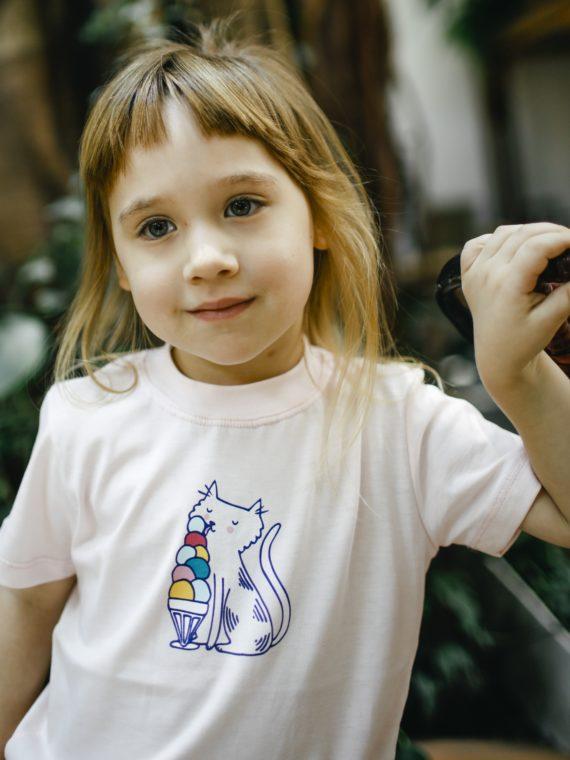 Camiseta Infantil Rosa 1