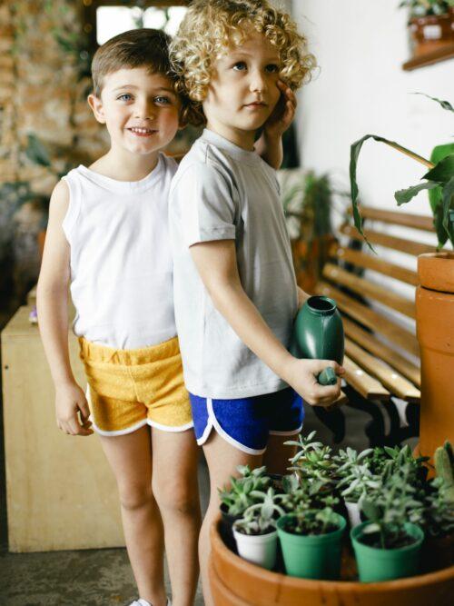 Short Infantil Atoalhado