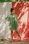 Camisa Viscose Quartzo Verde Claro