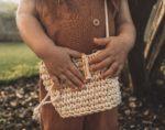 Bolsa Crochê Infantil Canelinha