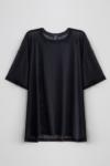 Camiseta Tule Preto Plus Size