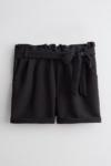 Shorts Paperbag Preto