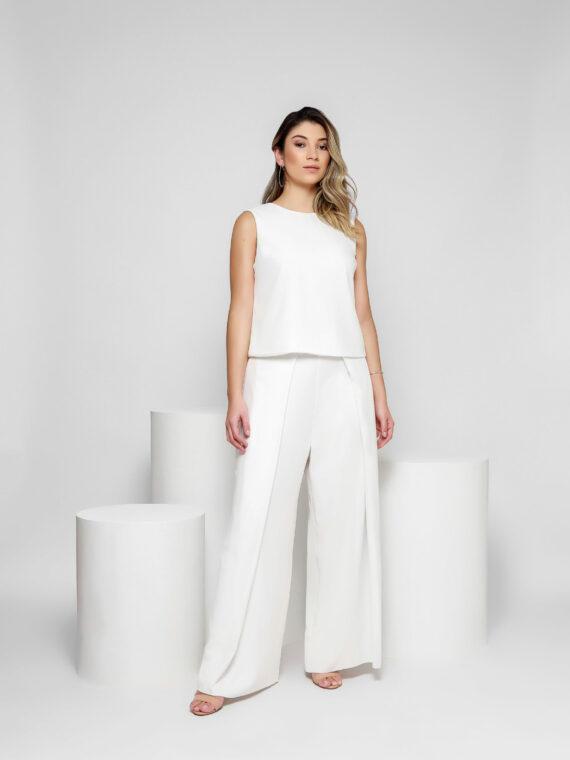 17 Pantalona Branca – Frente