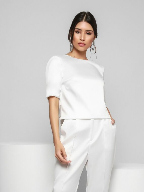21 Cropped Branco – Frente