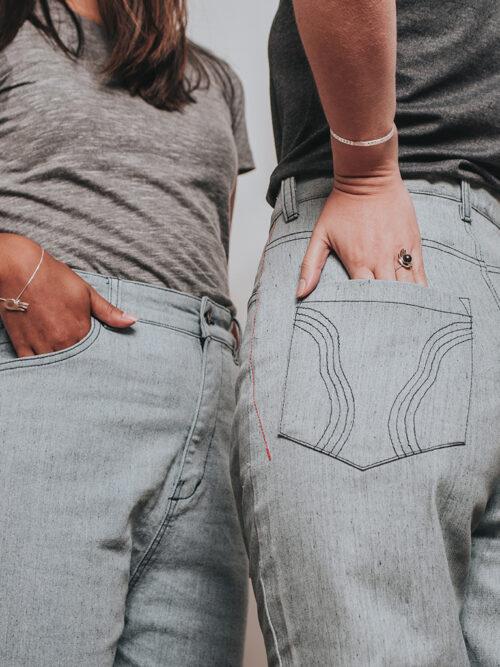 Calça Eco Jeans Feminina Amarilis