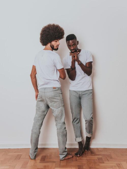 Calça Eco Jeans Masculina Amaranto