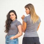 Camisa Polo Sustentável Avenca Feminina – Algodão Orgânico e PET Reciclado