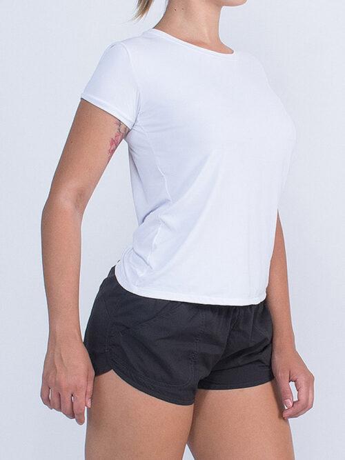 Camiseta Sustentável Dry Fit Feminina Manacá